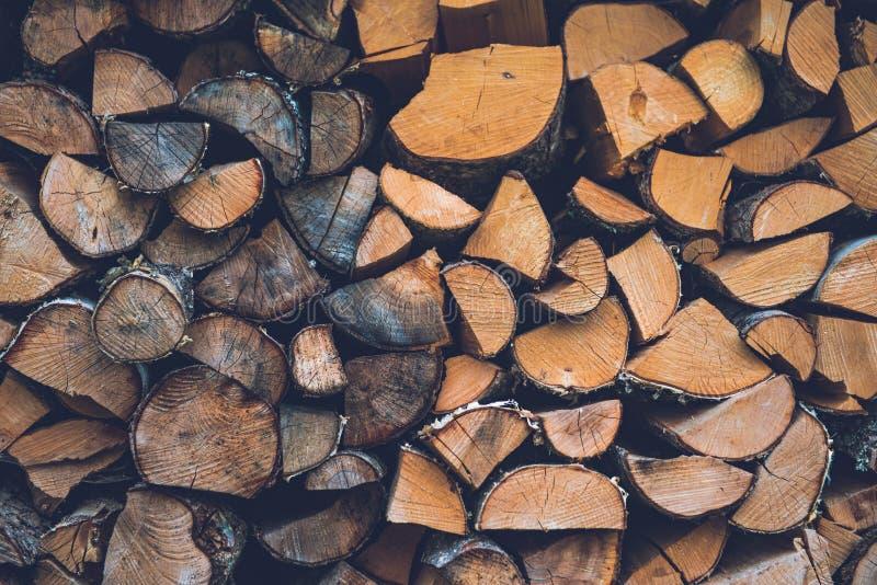Bunt av vedträ abstrakt bakgrundsclosejournal upp trä arkivbilder