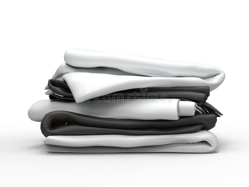 Bunt av vit- och svartark fotografering för bildbyråer