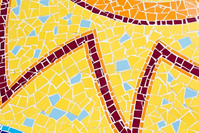 Bunt von den Mosaikfliesen lizenzfreie stockbilder