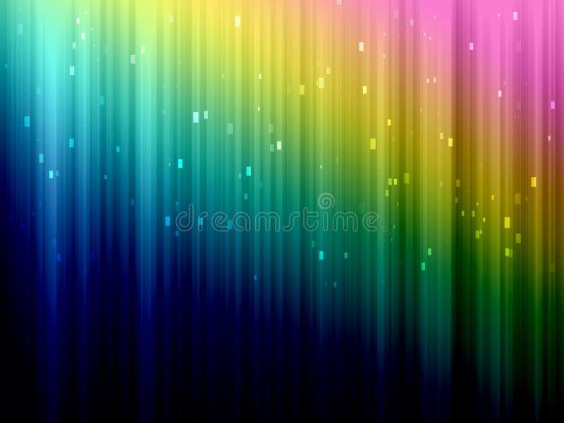 Bunte abstrakte Hintergrundnahaufnahme lizenzfreie abbildung