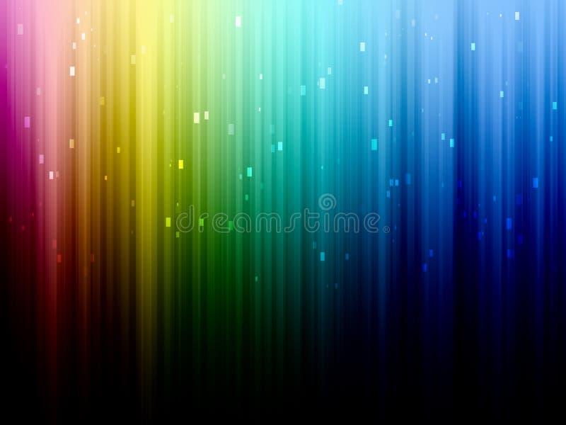 Bunte abstrakte Hintergrundnahaufnahme vektor abbildung