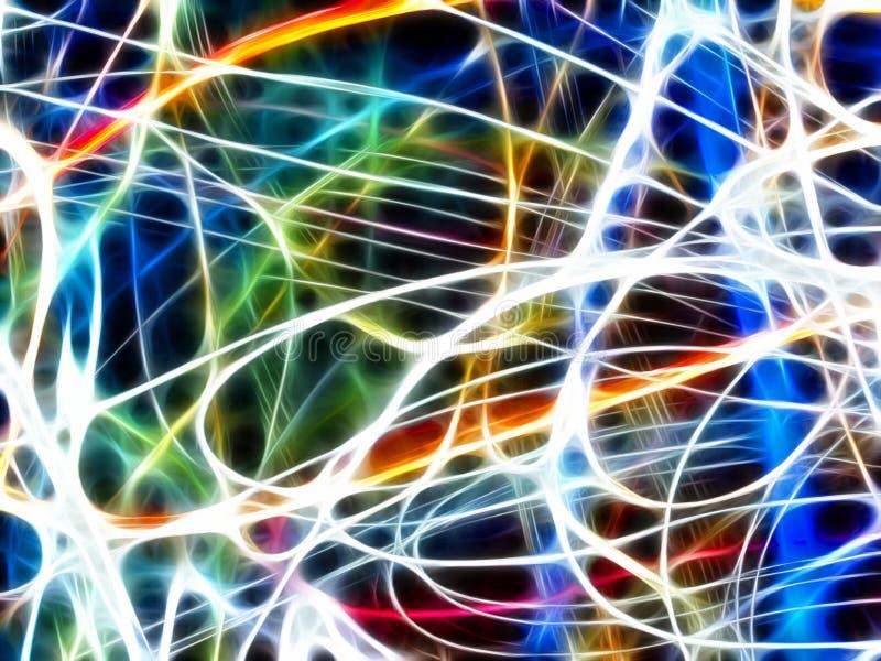 Download Bunte Abstrakte Leuchte (Fractalhintergrund) Stock Abbildung - Illustration von fluß, unschärfe: 26368452