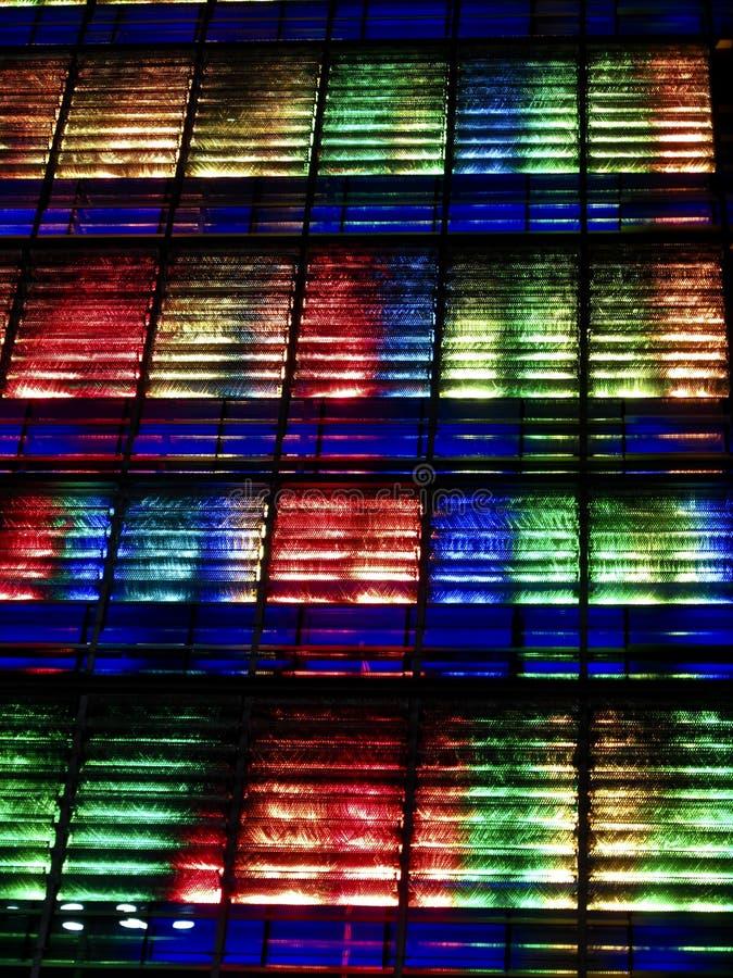 Bunte abstrakte Leuchten lizenzfreie stockbilder