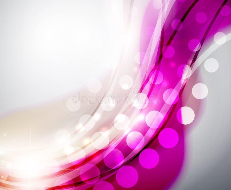 Download Bunte Abstrakte Wellenhintergründe Vektor Abbildung - Illustration von fahne, futuristisch: 26372307