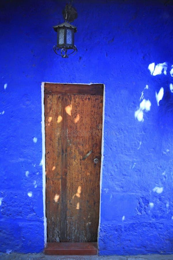 Bunte Architektursonderkommandos, Arequipa Peru. lizenzfreies stockbild