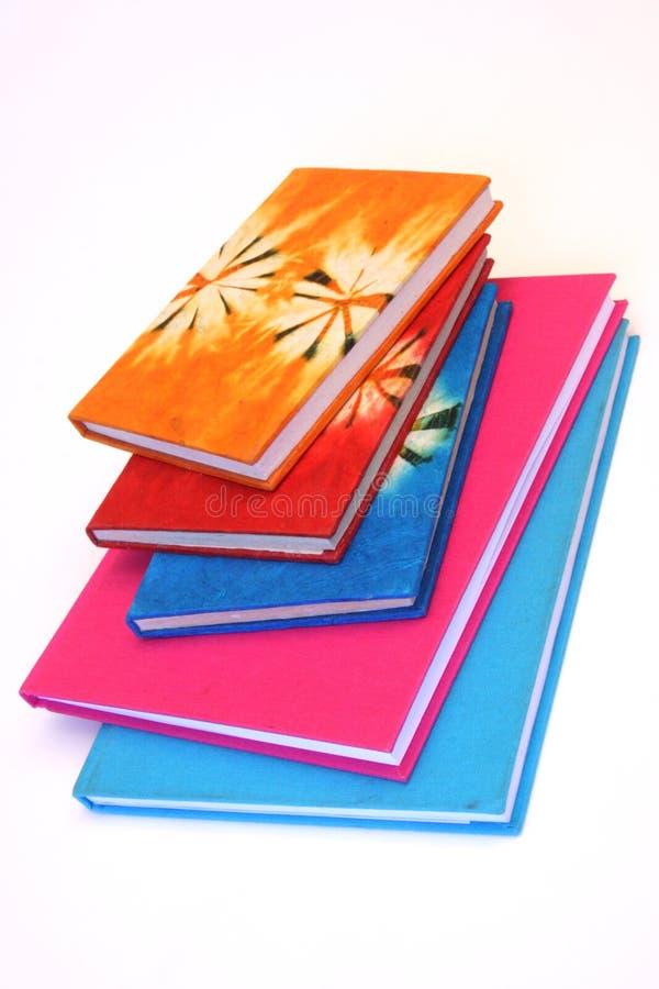 Bunte Bücher lizenzfreie stockfotografie