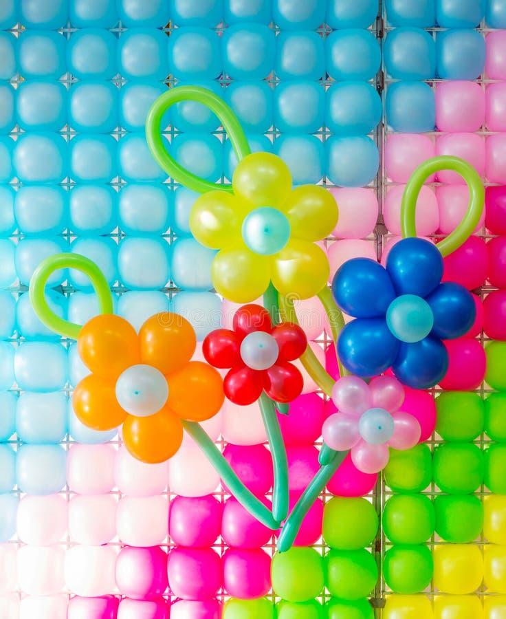 Ballon-Dekoration lizenzfreies stockbild