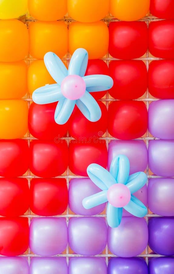Ballon-Dekoration stockfoto