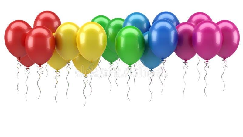 Bunte Ballone vektor abbildung