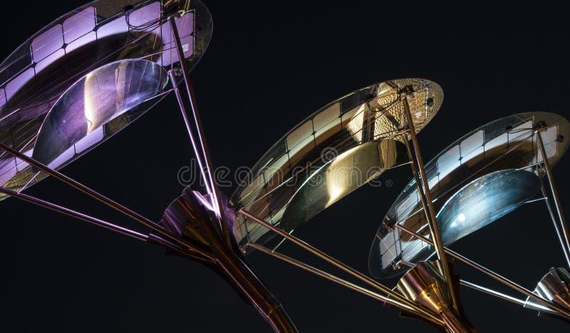 Bunte Beleuchtung 002-130508 stockbild