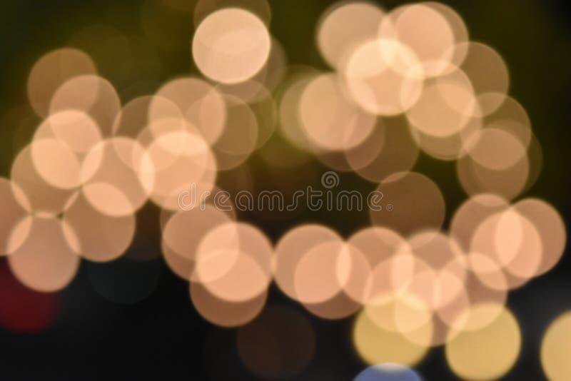 Bunte bokeh Bilder für Tapeten, Beschaffenheit, Hintergrund stockfotos