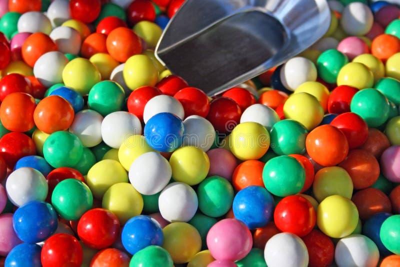 Bunte Bonbons 2 stockfoto