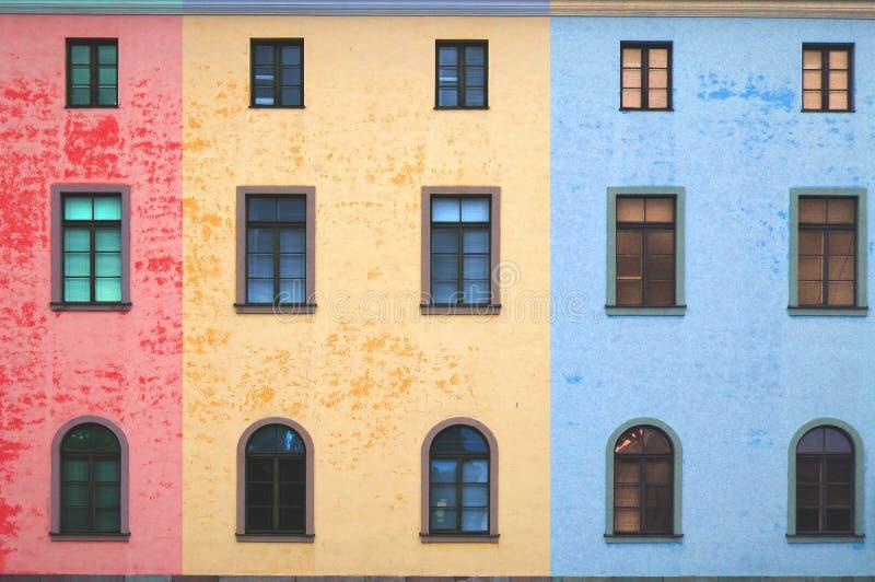 Bunte Fensterart stockbilder