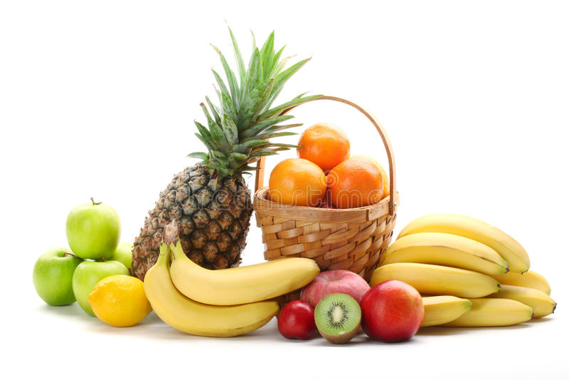 Bunte Früchte stockfoto