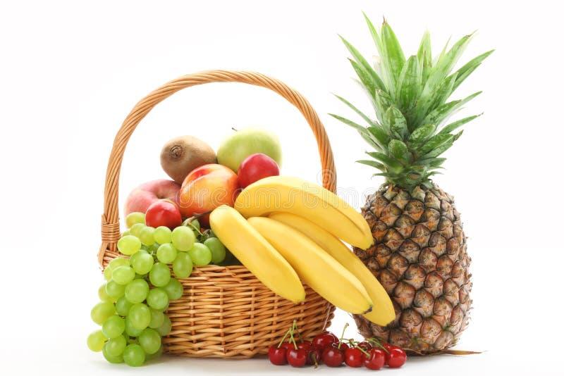 Bunte Früchte lizenzfreies stockbild