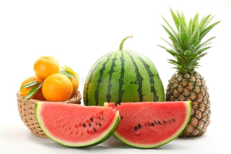 Bunte Früchte stockfotos