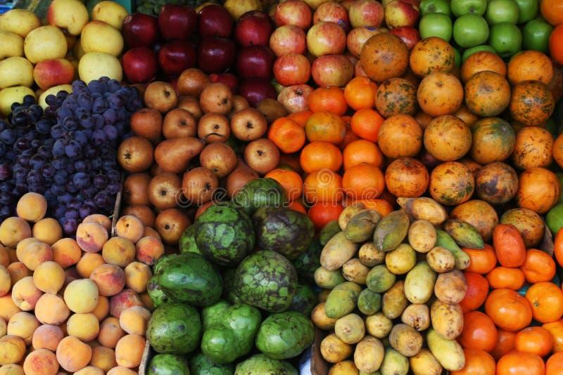 Bunte Frucht lizenzfreie stockfotografie