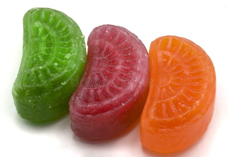Bunte geformte Süßigkeiten stockfoto