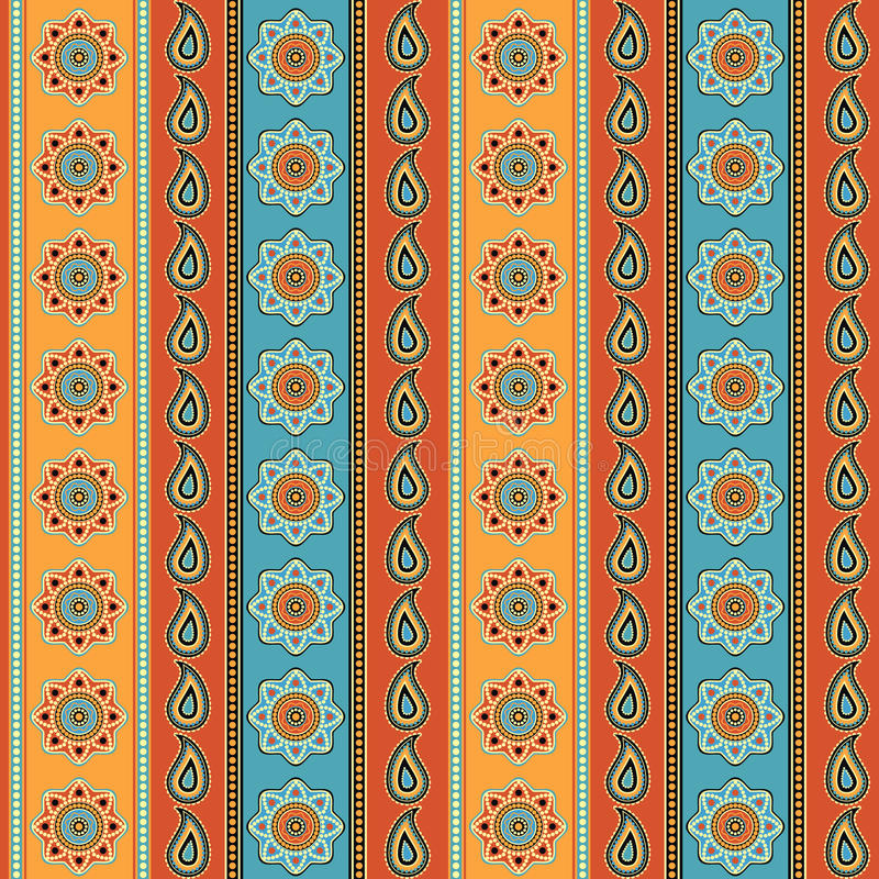 Download Bunte gestreifte Tapete vektor abbildung. Illustration von papier - 26369895