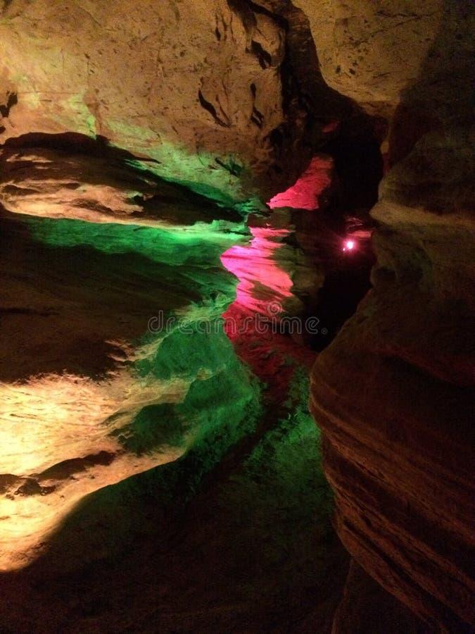 Bunte Höhle stockfotos