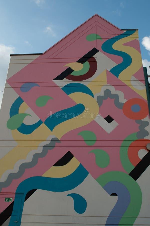 Download Bunte Haus ` S Wand In Gelnhausen Redaktionelles Stockbild - Bild von outdoor, architektur: 106803699