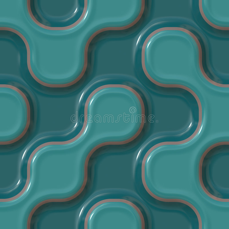 Bunte keramische Muster lizenzfreie abbildung