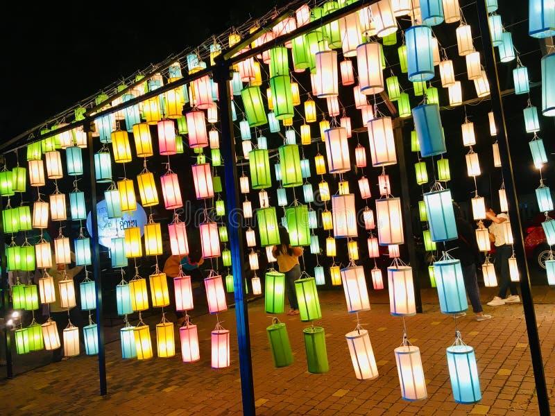Bunte Lampe lizenzfreie stockbilder