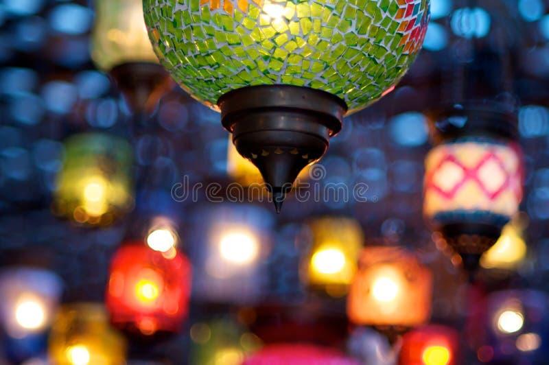 Bunte Lampen stockfotografie