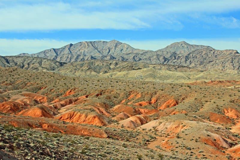 Download Bunte Landschaft Von Nevada Stockfoto - Bild von draußen, szenisch: 27731746