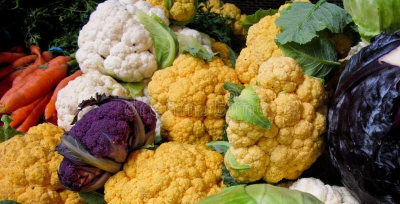 Bunte organische vegis stockfotos