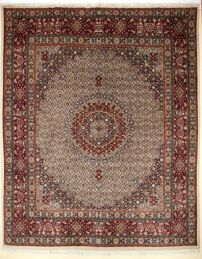 Bunte persische islamische des arabischen Teppichs handcraft stockfotografie