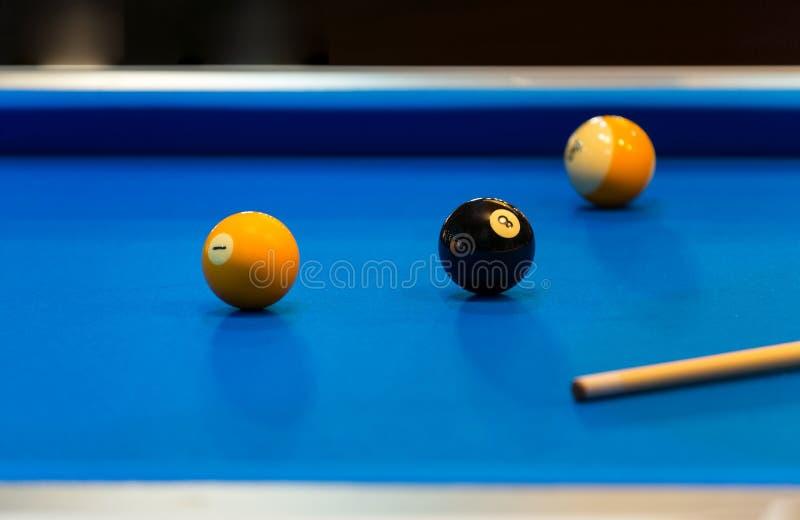 Bunte Pool-Kugeln lizenzfreie stockfotos