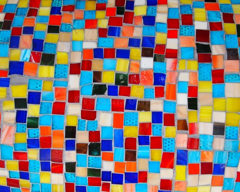 Bunte QuadratMosaikFliesen Stockbild Bild Von Auszug Quadrate - Mosaik fliesen frostfest