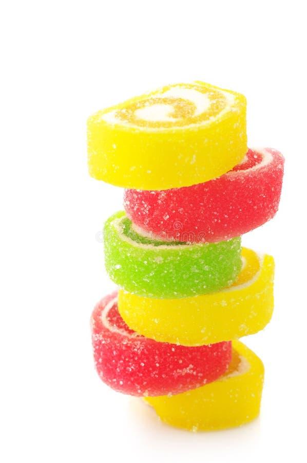Bunte Süßigkeit lizenzfreie stockfotografie