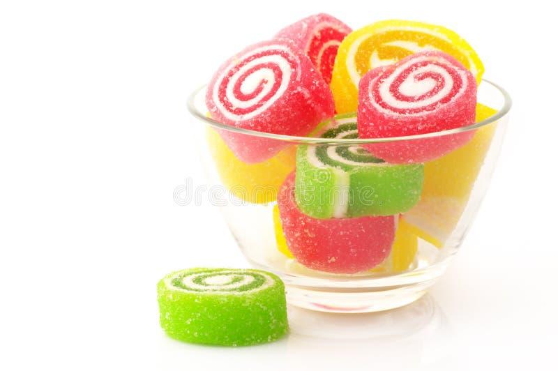 Bunte Süßigkeit lizenzfreies stockbild