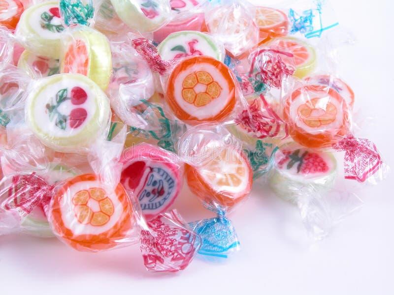 Bunte Süßigkeit lizenzfreie stockfotos