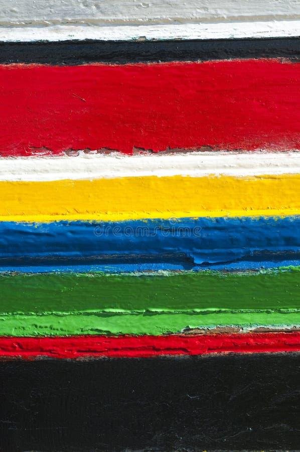 Bunte Streifen von Farben lizenzfreies stockbild