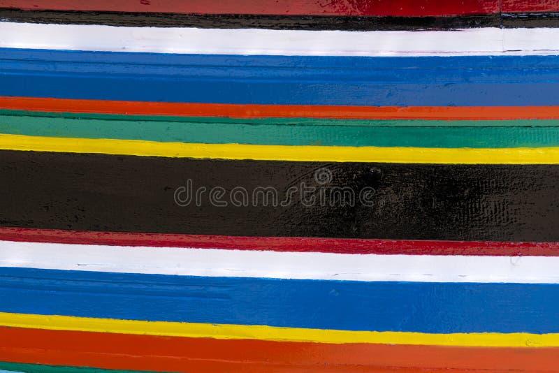 Bunte Streifen von Farben lizenzfreie stockfotografie