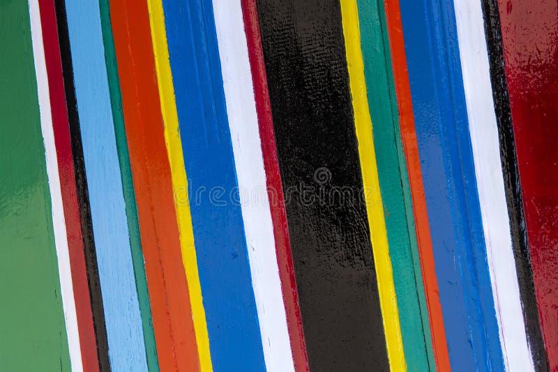 Bunte Streifen von Farben stockfotos