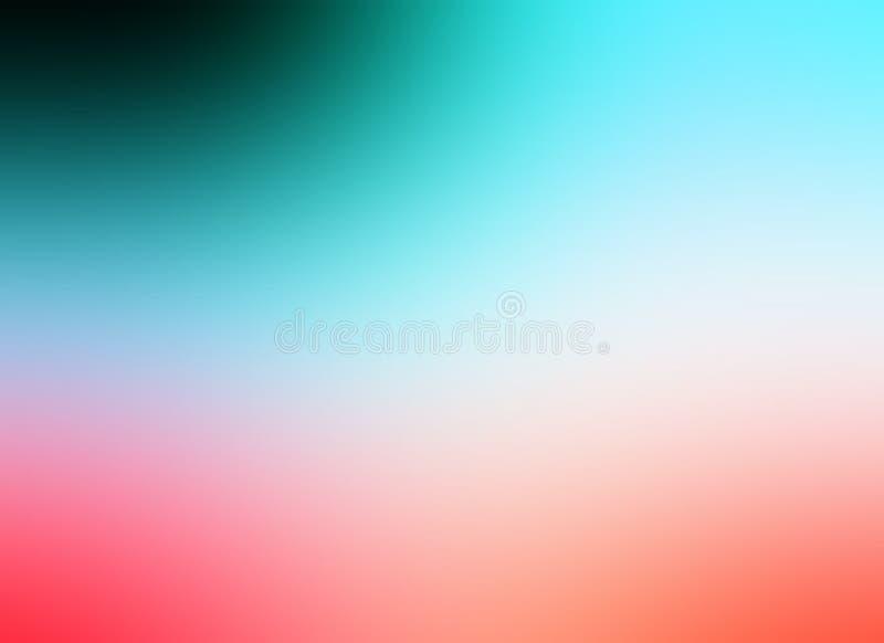 Bunte Unschärfe schattierte Hintergrundtapete, Vektorillustration vektor abbildung