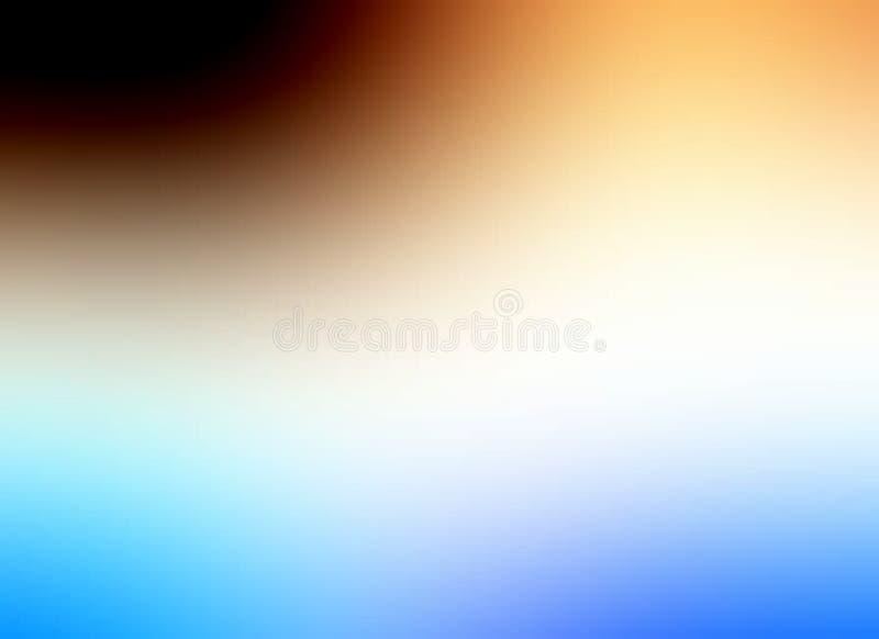 Bunte Unschärfe schattierte Hintergrundtapete, Vektorillustration lizenzfreie abbildung