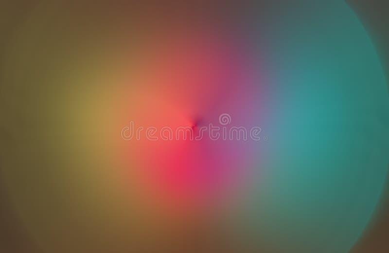 Bunte unscharfe schattierte Hintergrundtapete klare Farbvektorillustration Unschärfe, entworfen vektor abbildung