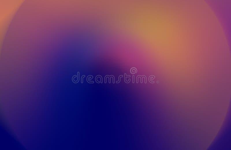 Bunte unscharfe schattierte Hintergrundtapete klare Farbvektorillustration Unschärfe, entworfen stock abbildung