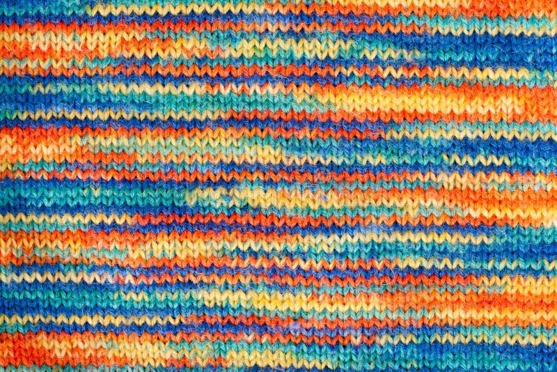 Bunte Wolleoberfläche stockbilder