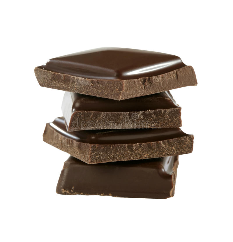 Bunten av choklad lappar arkivfoto