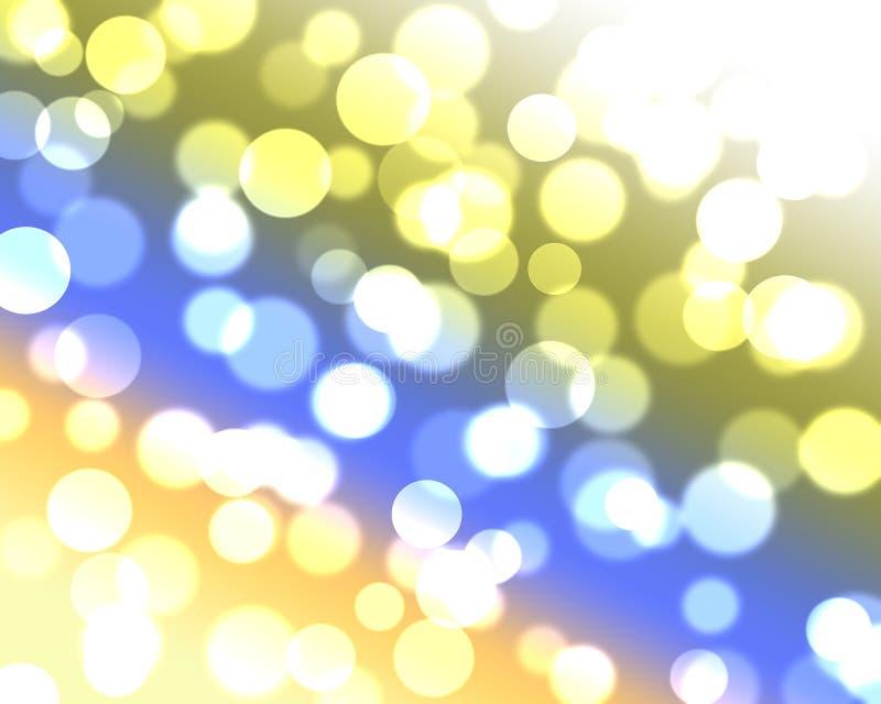 Bunter abstrakter bokeh Hintergrund stockbild