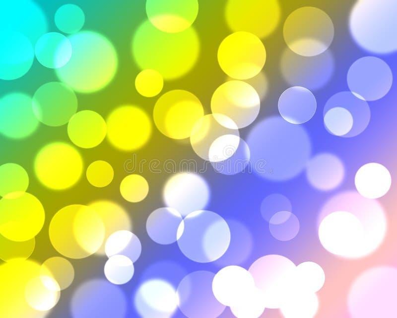 Bunter abstrakter bokeh Hintergrund lizenzfreies stockbild