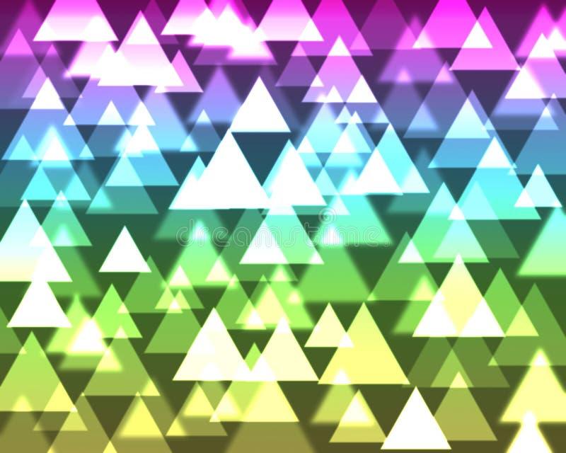 Bunter abstrakter bokeh Hintergrund vektor abbildung
