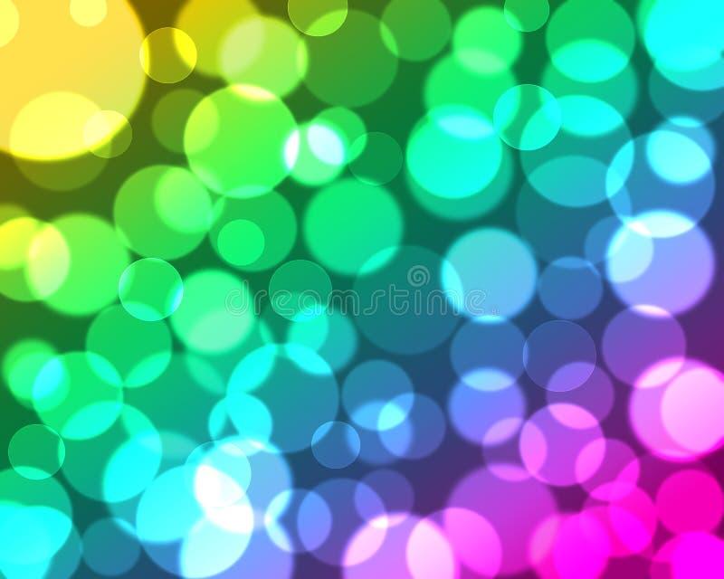 Bunter abstrakter bokeh Hintergrund lizenzfreie stockfotos