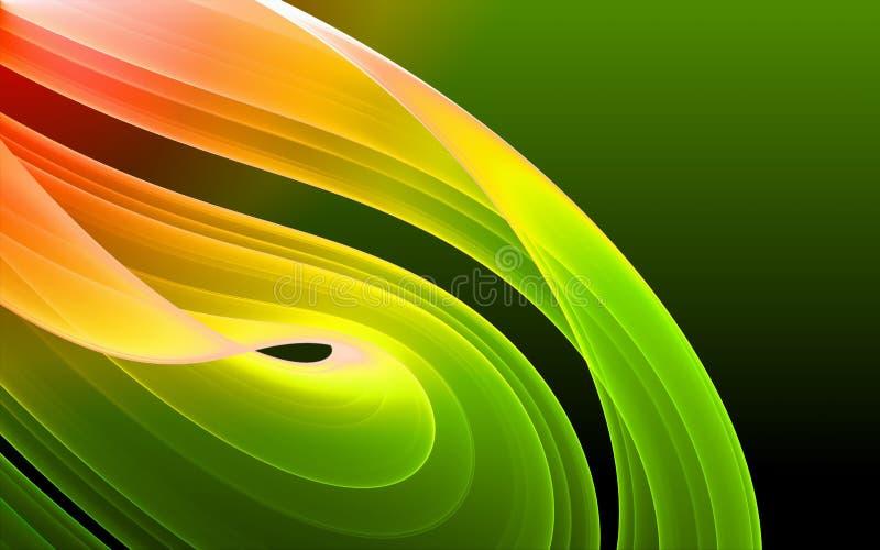 Bunter abstrakter Hintergrund stock abbildung